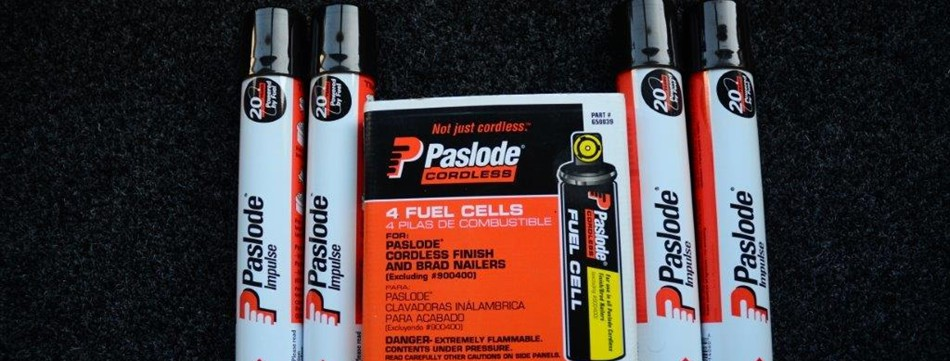 Paslode Batteries, Chargers, Lubricating Oil